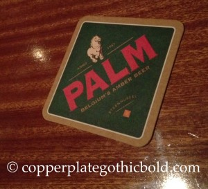palm-beer-dc-market-tavern-copperplate-gothic-bold