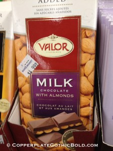 milk-chocolate-valor-almonds-copperplate-gothic-bold