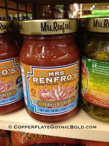 mrs-renfros-salsa-jar-copperplate-gothic-bold-spicy
